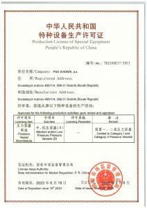CML Certifikát